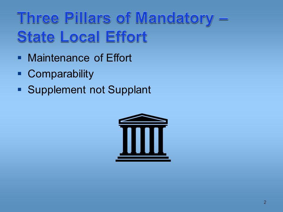  State  USDE Secretary May Waive  Similar to NCLB  LEA – No Waiver! 13