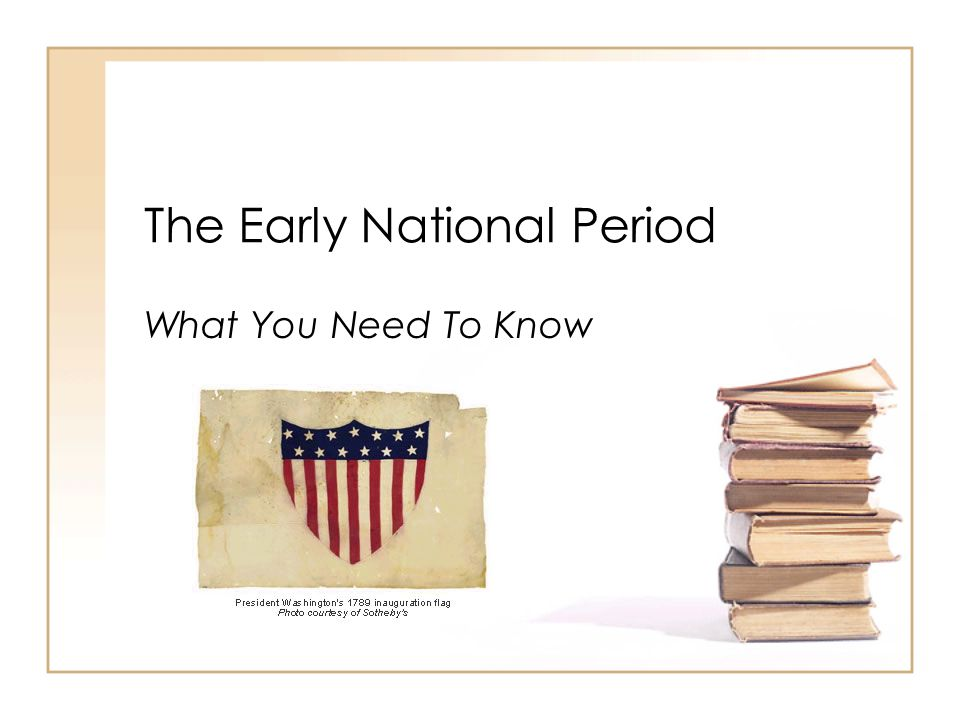 The Early National Period The new American republic prior to the Civil War experienced dramatic territorial expansion, immigration, economic growth, and industrialization.