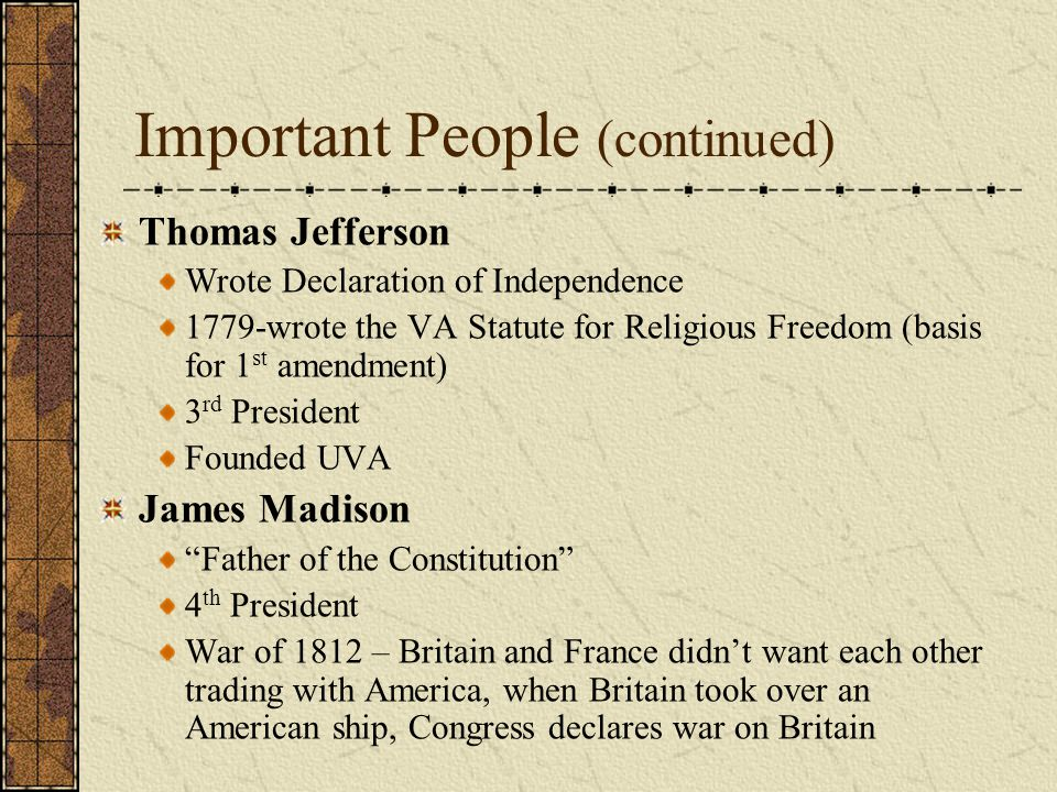 did thomas jefferson write the constitution