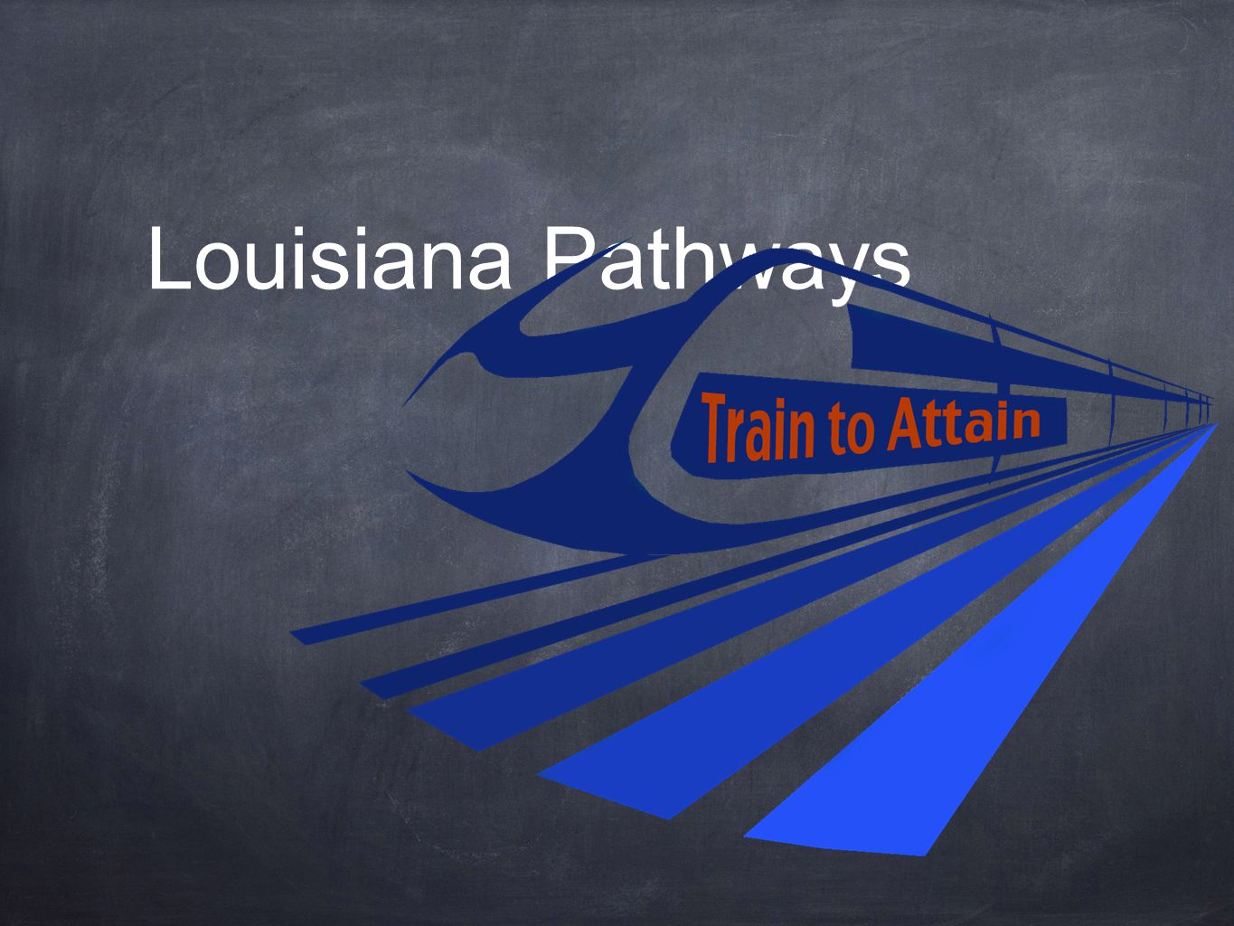 Where are we now… We've launched our Louisiana brand of integrated career pathways across the state – Train to Attain We are providing integrated pathways at all 13 of our colleges We are building tracks to success for our students We are providing many career destinations throughout each integrated pathway