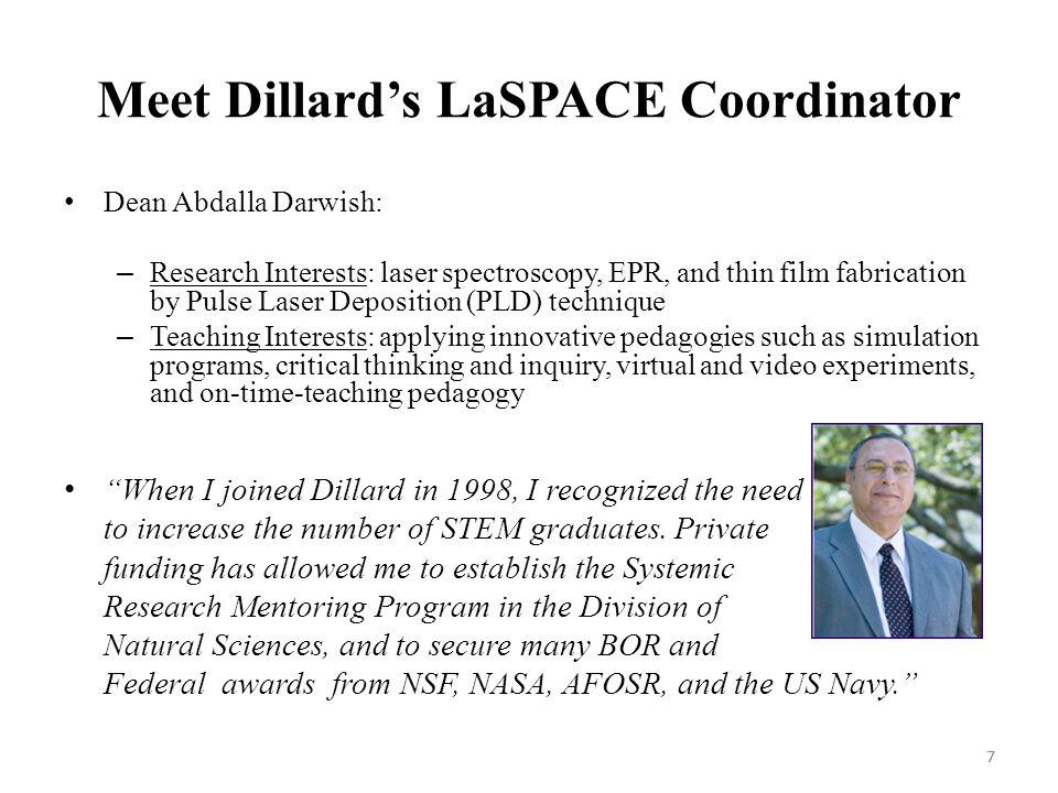 8 Information on Dillard University 8
