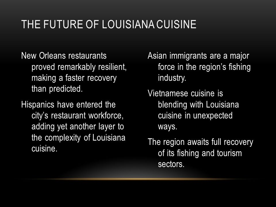 New Orleans restaurants proved remarkably resilient, making a faster recovery than predicted.