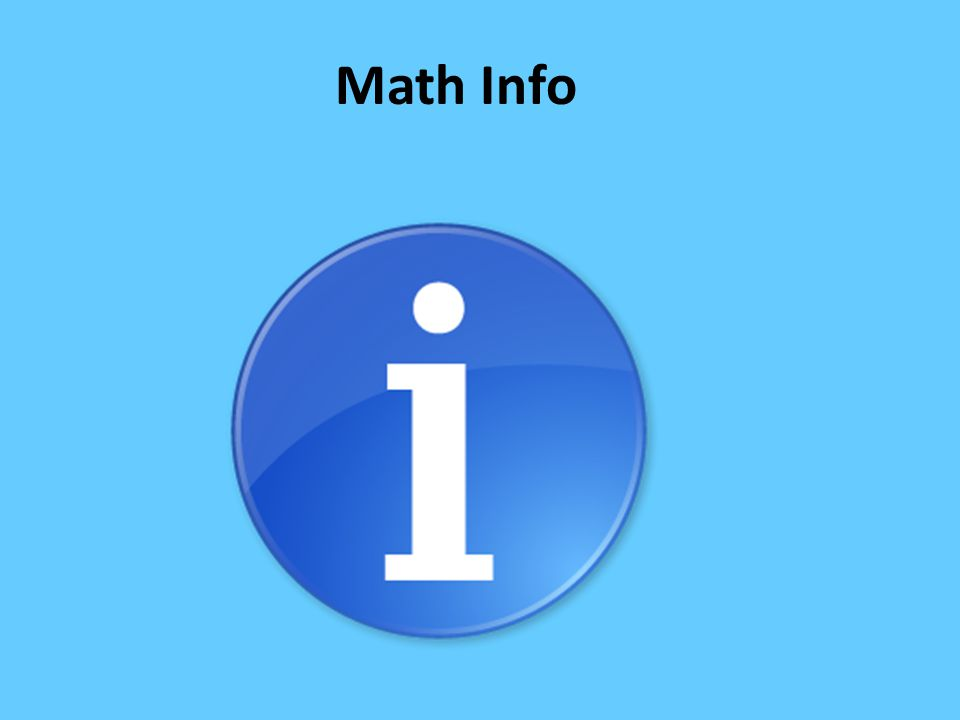 Math Info