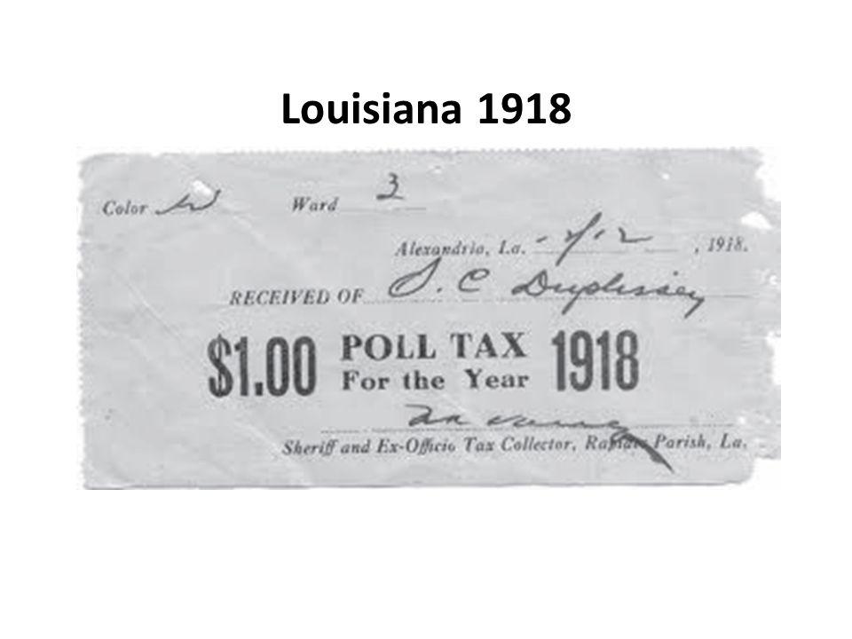 Louisiana 1918