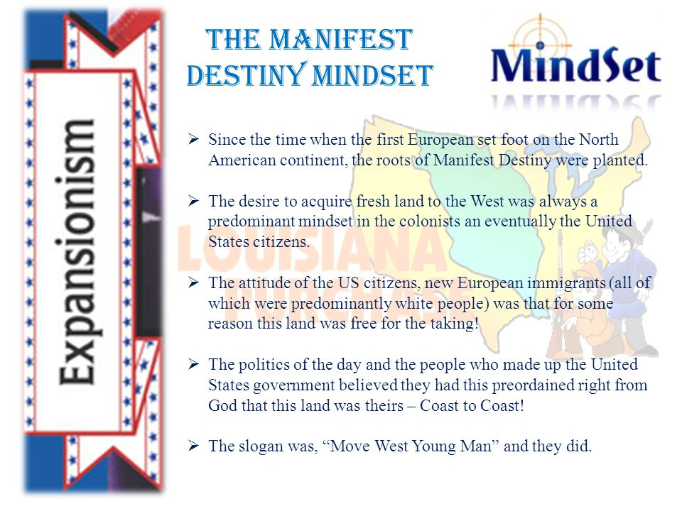 Manifest Destiny and Imperialism  The United States experienced its most rapid territorial growth during the mid-1840s.
