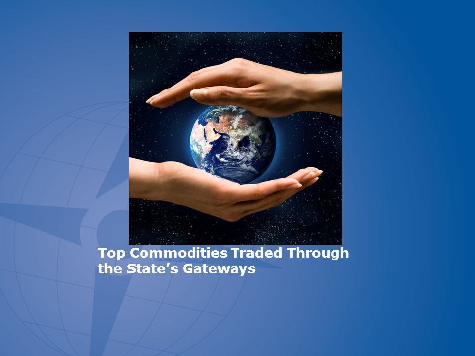 Top Commodities Traded Through the State's Gateways