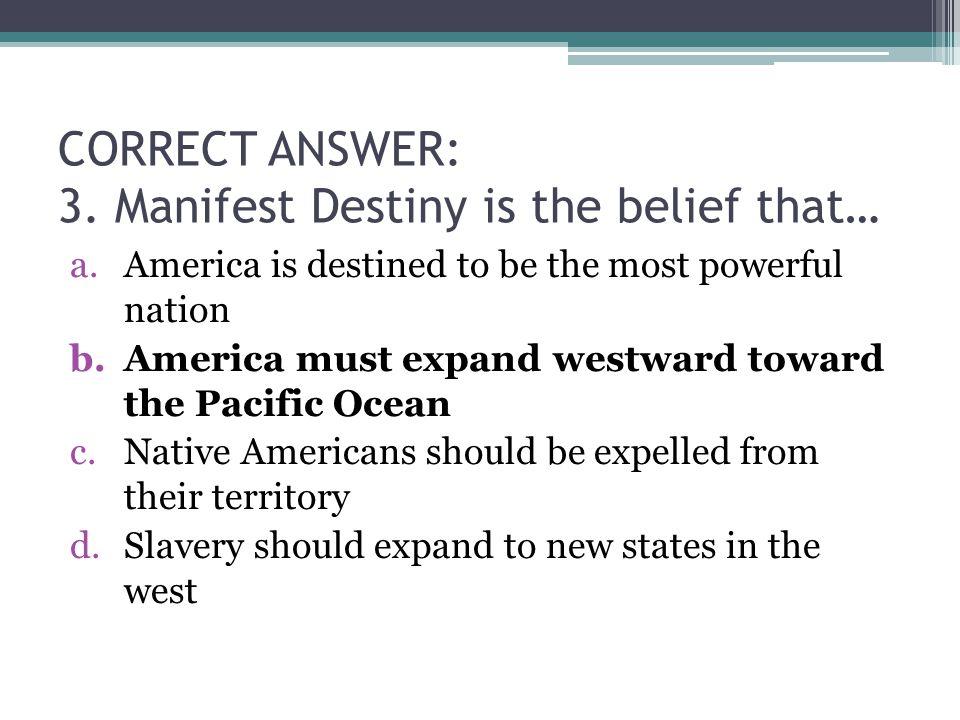 CORRECT ANSWER: 3.