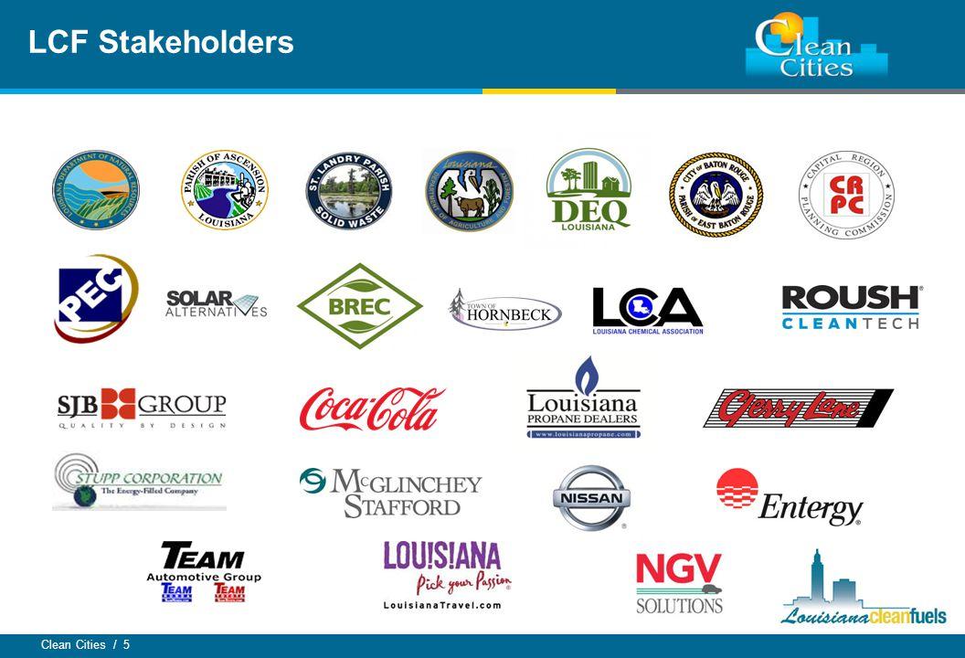 Clean Cities / 5 LCF Stakeholders