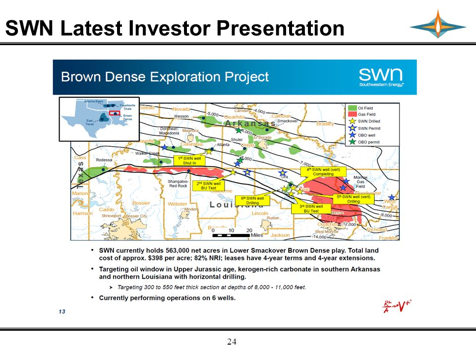 Empresa Energy, L.P. 24 SWN Latest Investor Presentation