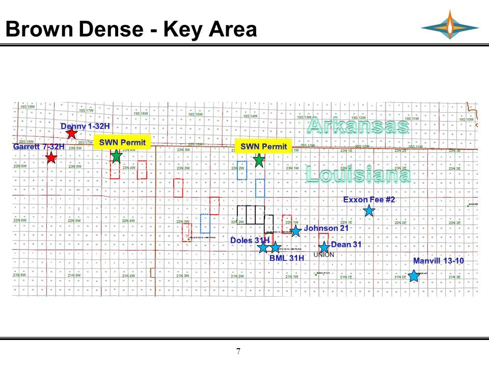 Empresa Energy, L.P. 7 Brown Dense - Key Area