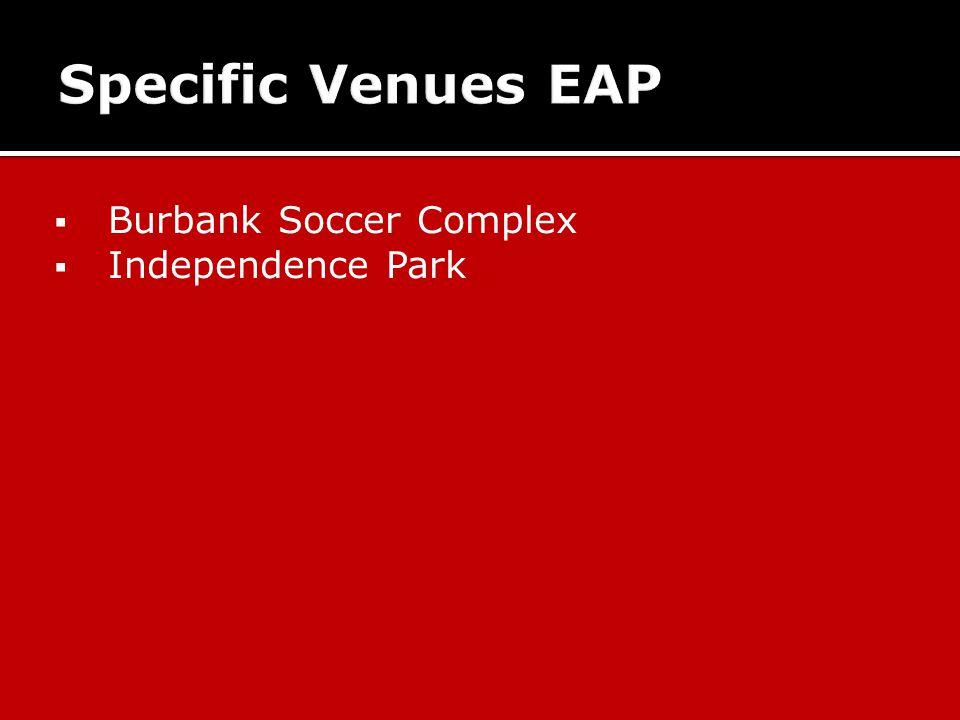  Burbank Soccer Complex  Independence Park