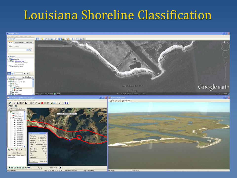 Louisiana Shoreline Classification