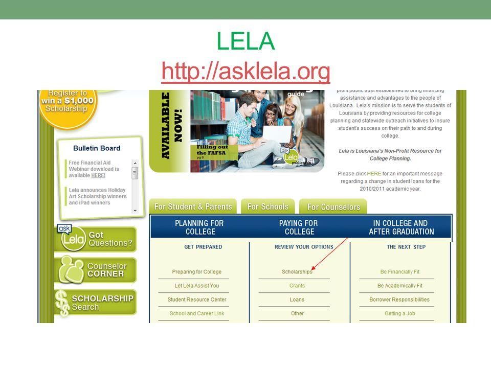 LELA http://asklela.org http://asklela.org