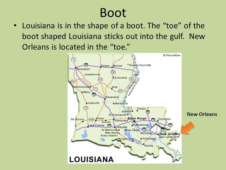 Louisiana's Neighbor to the South Gulf of Mexico