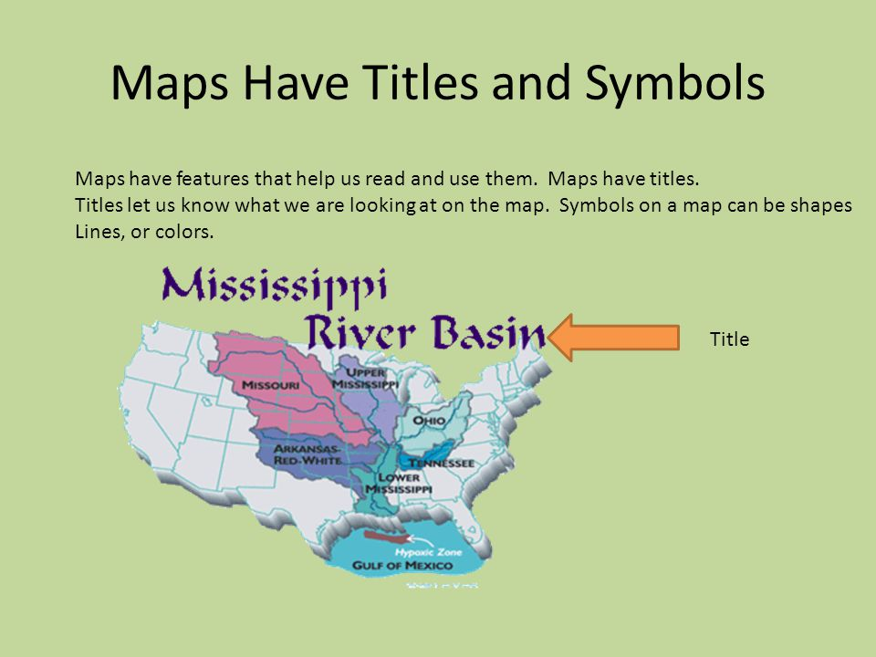 What is a Map. A map is a drawing of a place. Maps show us where Earth's land and water are.