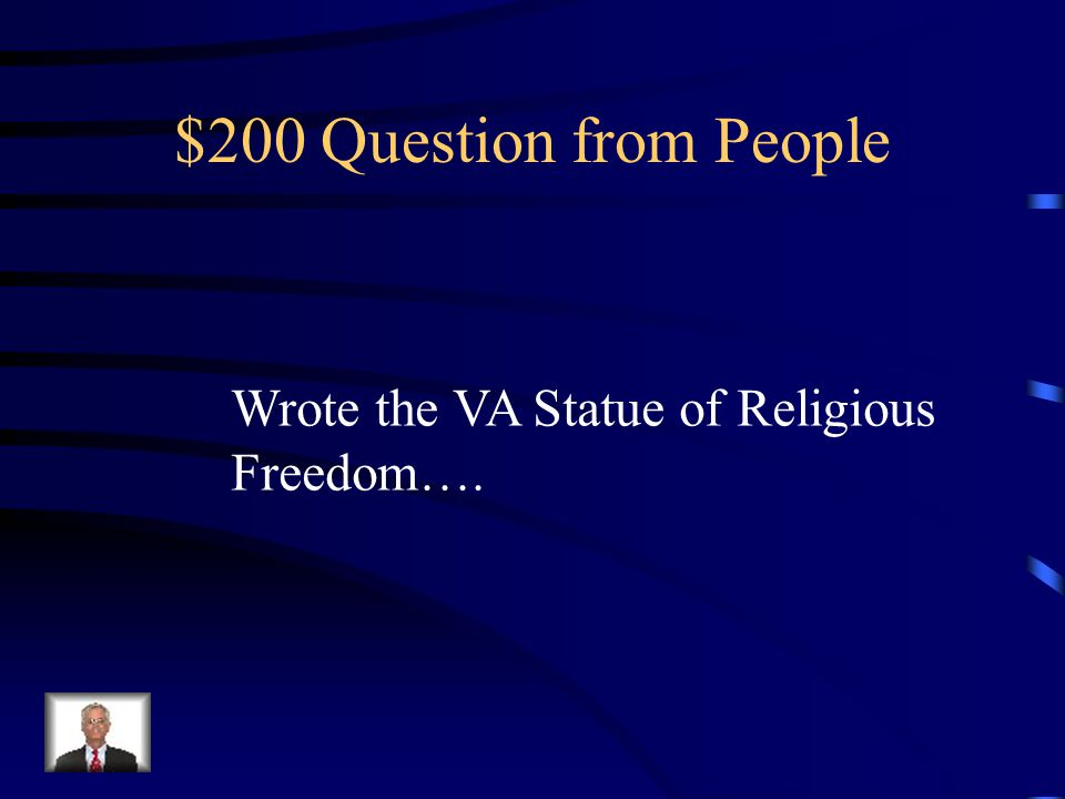 $100 Answer from People Francis Scott Key