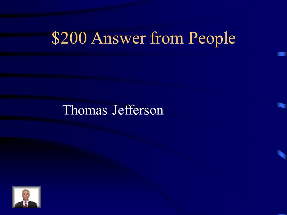 $200 Question from People Wrote the VA Statue of Religious Freedom….
