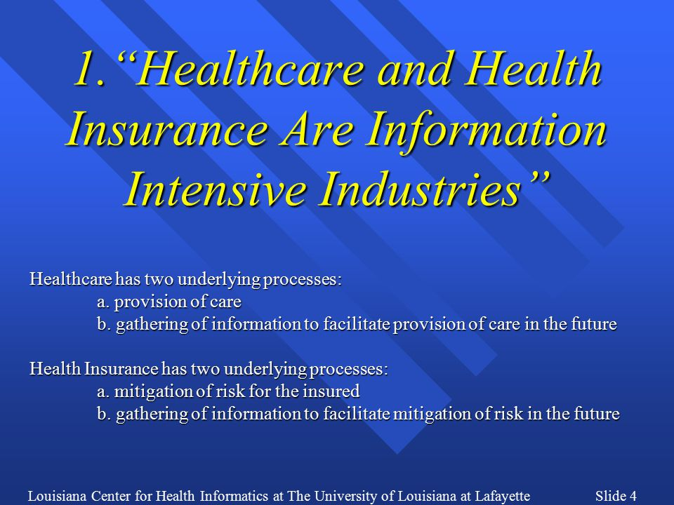 Louisiana Center for Health Informatics at The University of Louisiana at LafayetteSlide 35 New Action Plan