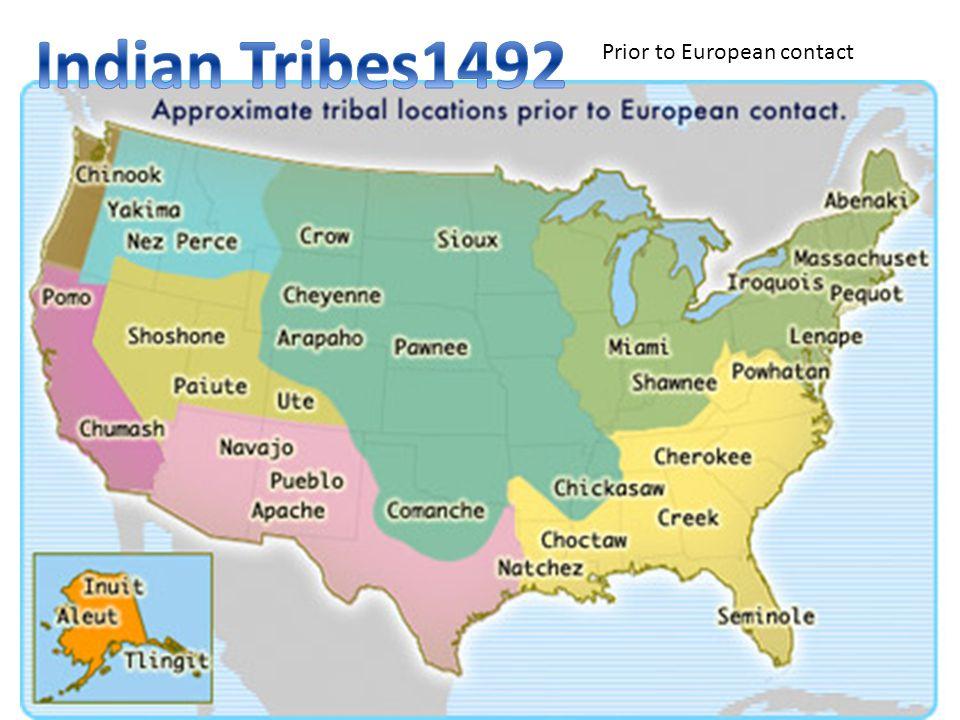 Prior to European contact