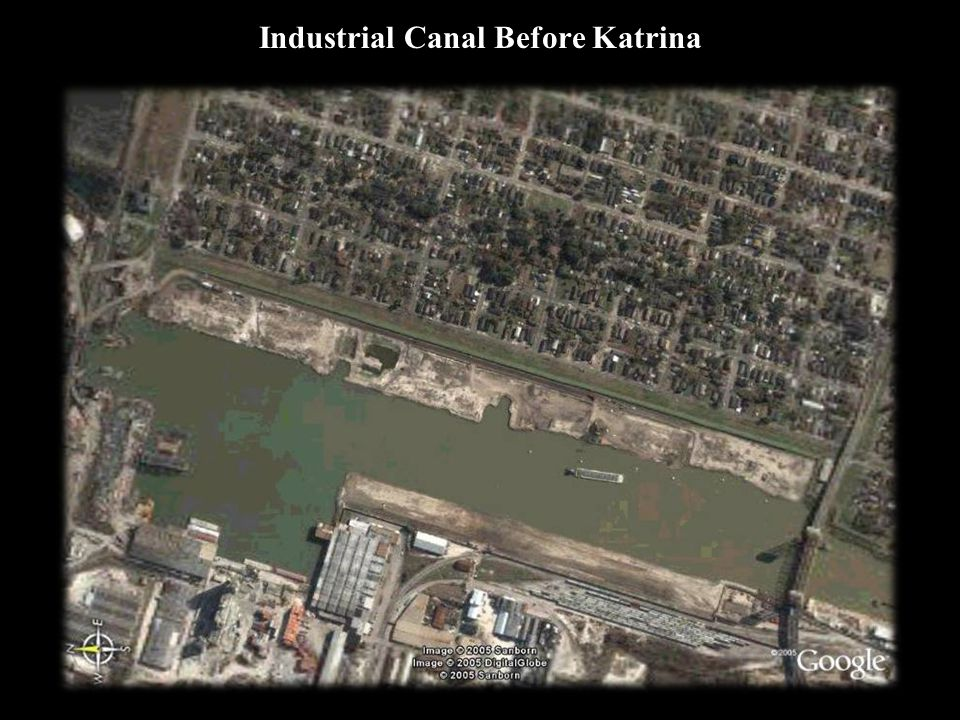 Industrial Canal Before Katrina