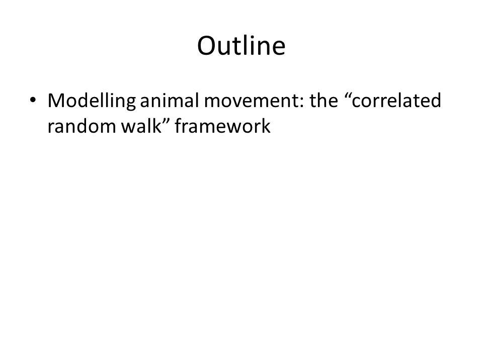 Modelling animal movement: the correlated random walk framework