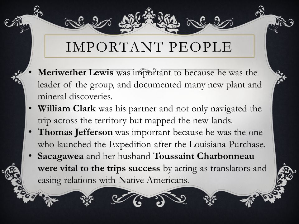 have you ever wondered about Lewis & Clark.