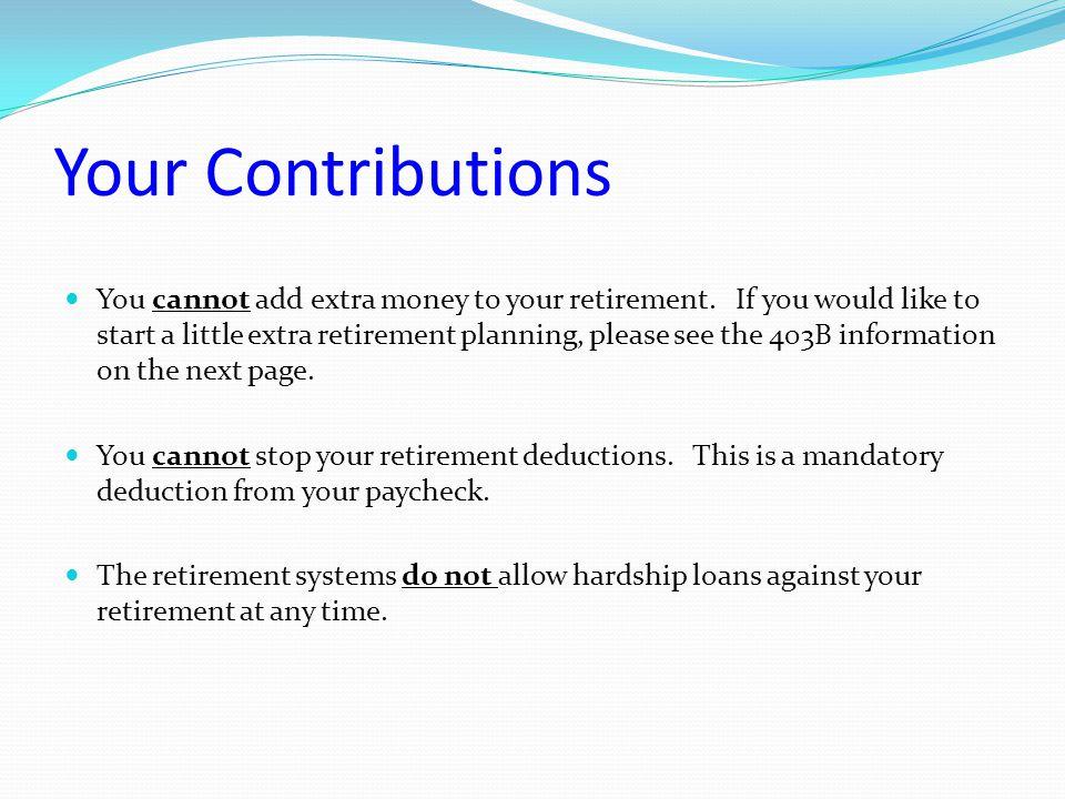 TRSL SURVIVOR BENEFITS Once you have five years of TRSL service credit, you're eligible for survivor benefits.