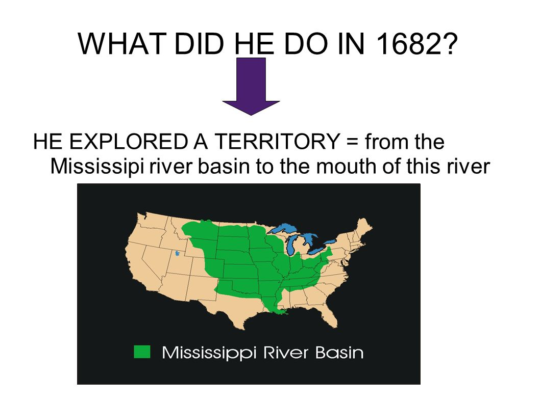 WHAT DID HE DO IN 1682.