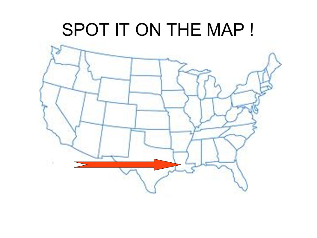 SPOT IT ON THE MAP !