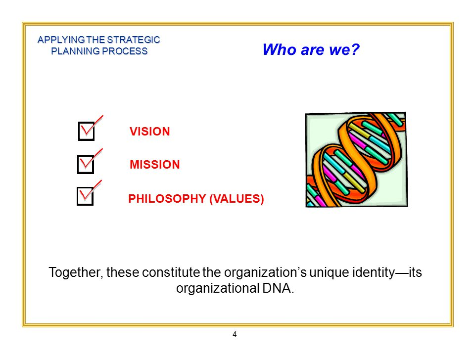 15 POINTER: Use the following template to help develop a mission statement.