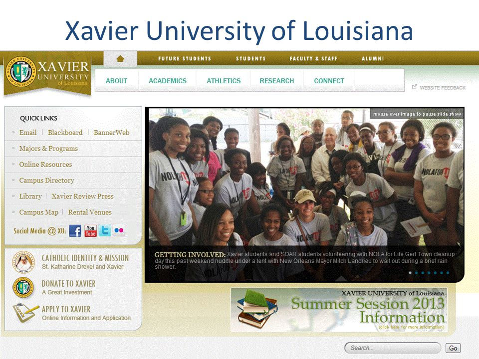 Xavier University of Louisiana