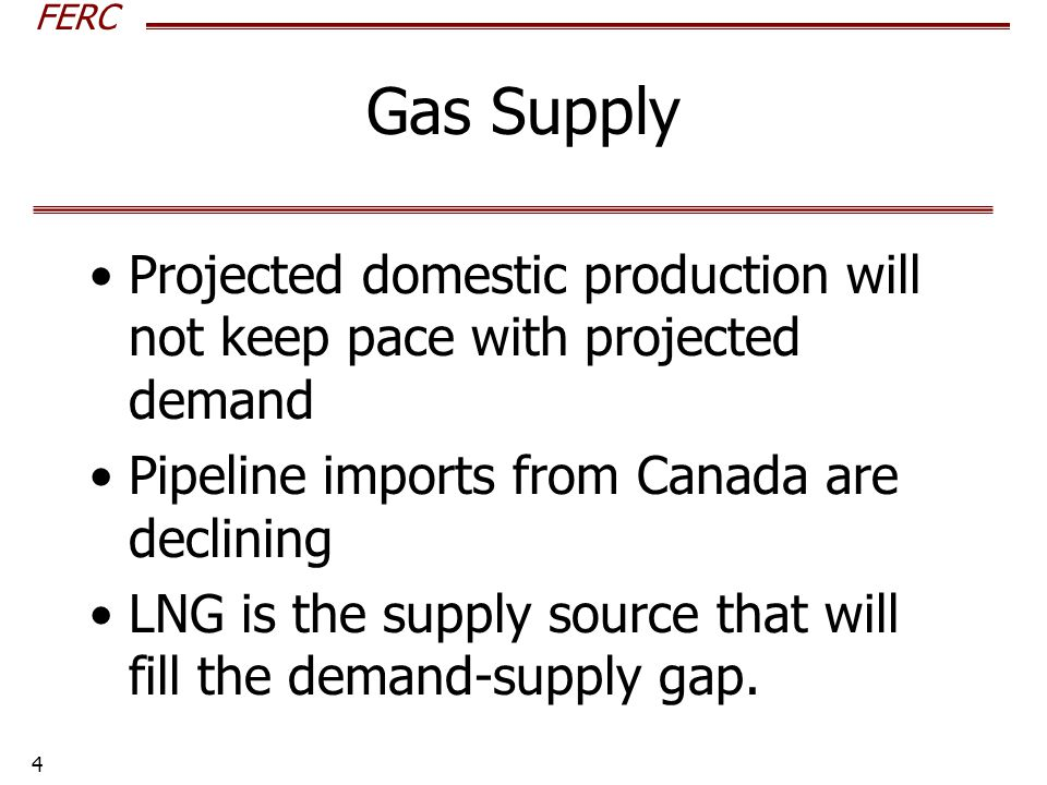 FERC 5 How Much Natural Gas Is Out There.