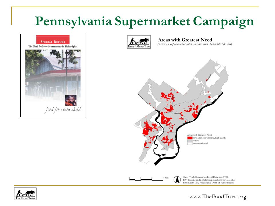 www.TheFoodTrust.org Pennsylvania Supermarket Campaign