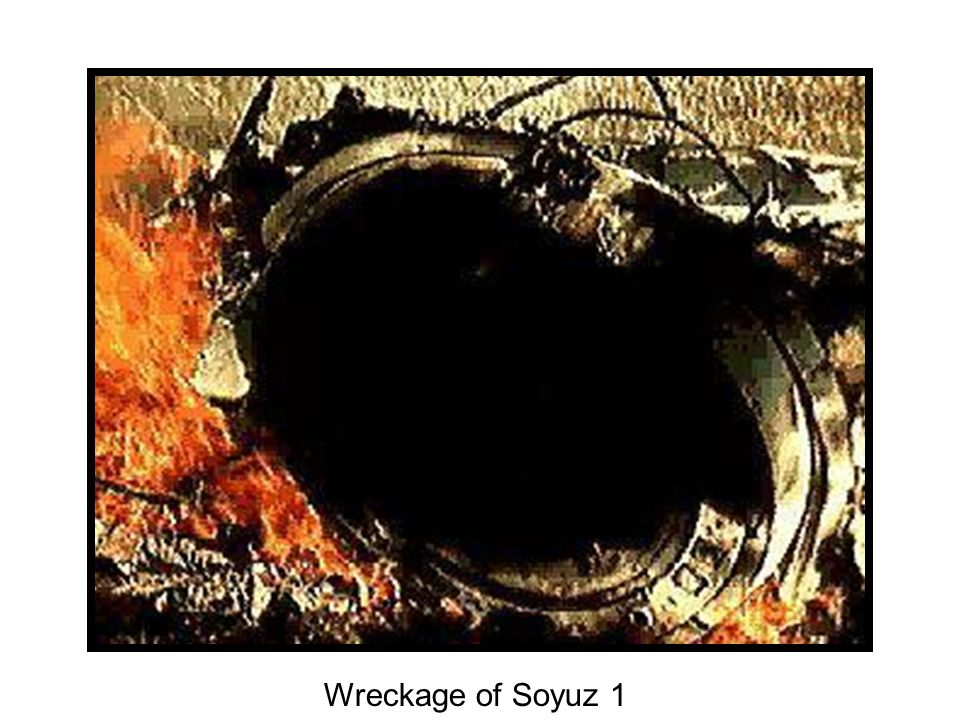 Wreckage of Soyuz 1