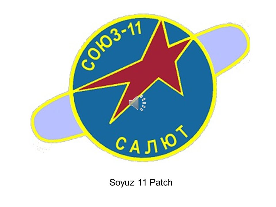 Soyuz 11 Patch