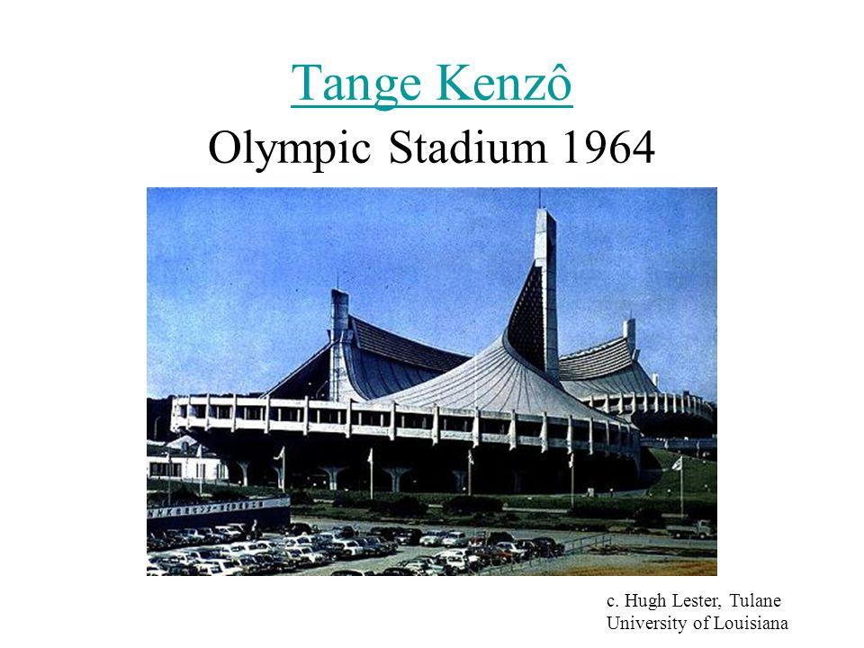 Tange Kenzô Tange Kenzô Olympic Stadium 1964 c. Hugh Lester, Tulane University of Louisiana