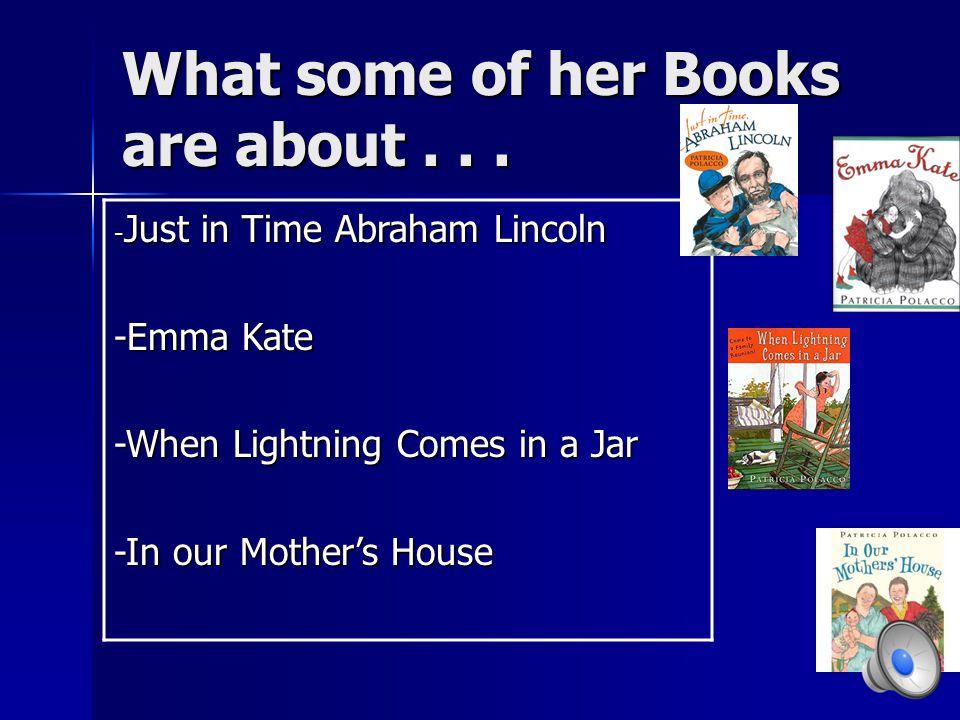 Career She enjoyed a wonderful career of writing books for children.