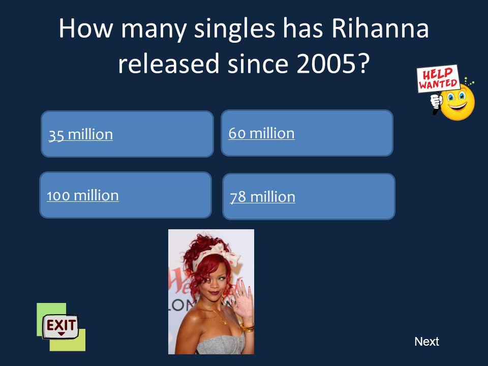 Next How many Grammy awards had Rihanna won 4 1 62