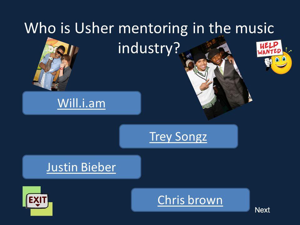 Next What is Usher's origin.