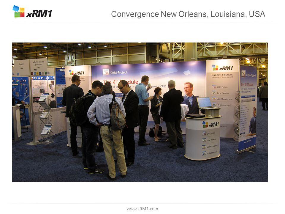 www.xRM1.com Convergence New Orleans, Louisiana, USA