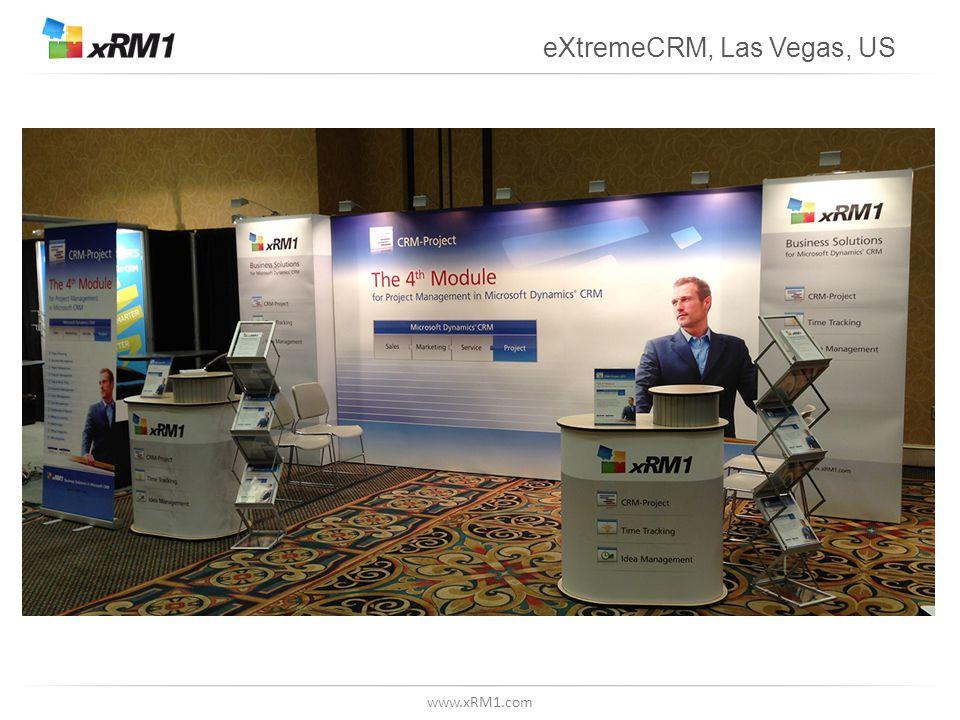 www.xRM1.com eXtremeCRM, Las Vegas, US