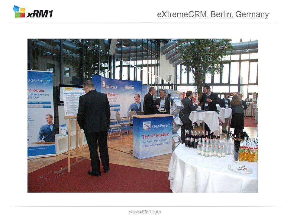 www.xRM1.com eXtremeCRM, Berlin, Germany
