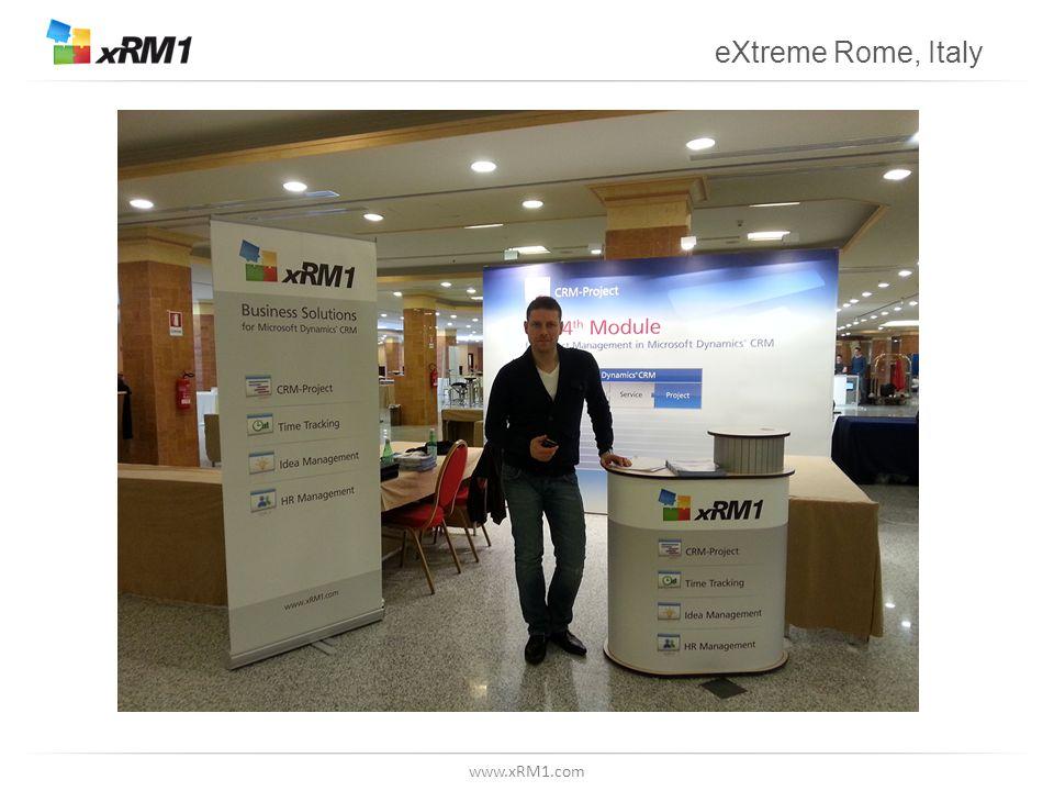 www.xRM1.com eXtreme Rome, Italy