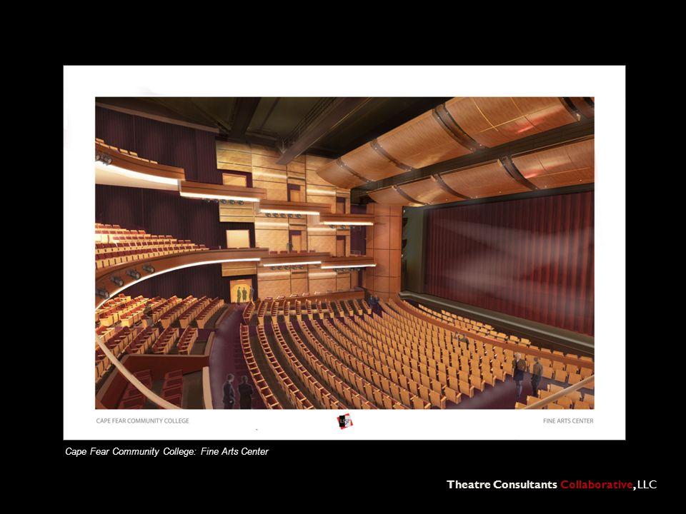 Theatre Consultants Collaborative, LLC Cape Fear Community College: Fine Arts Center
