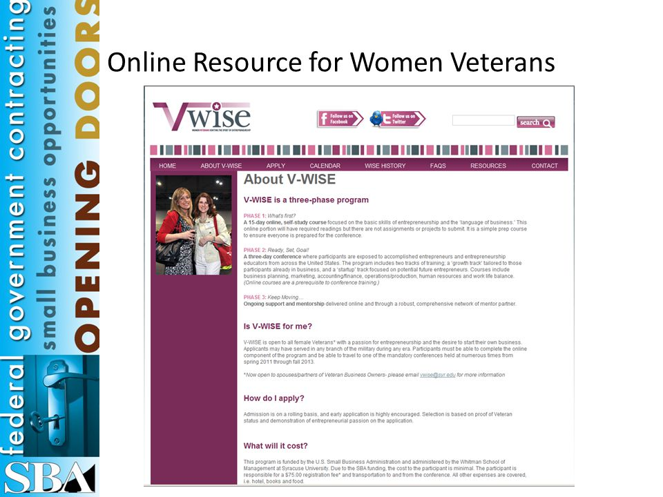 Online Resource for National Guard & Reservists
