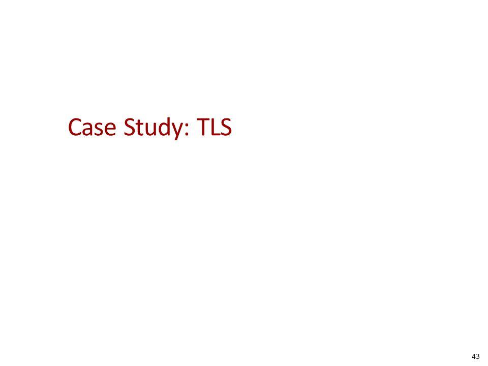 Case Study: TLS 43