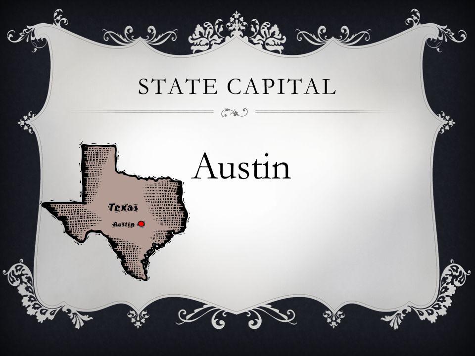 STATE CAPITAL Austin