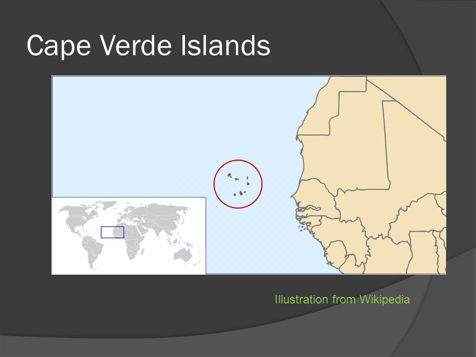 Cape Verde Islands Illustration from Wikipedia