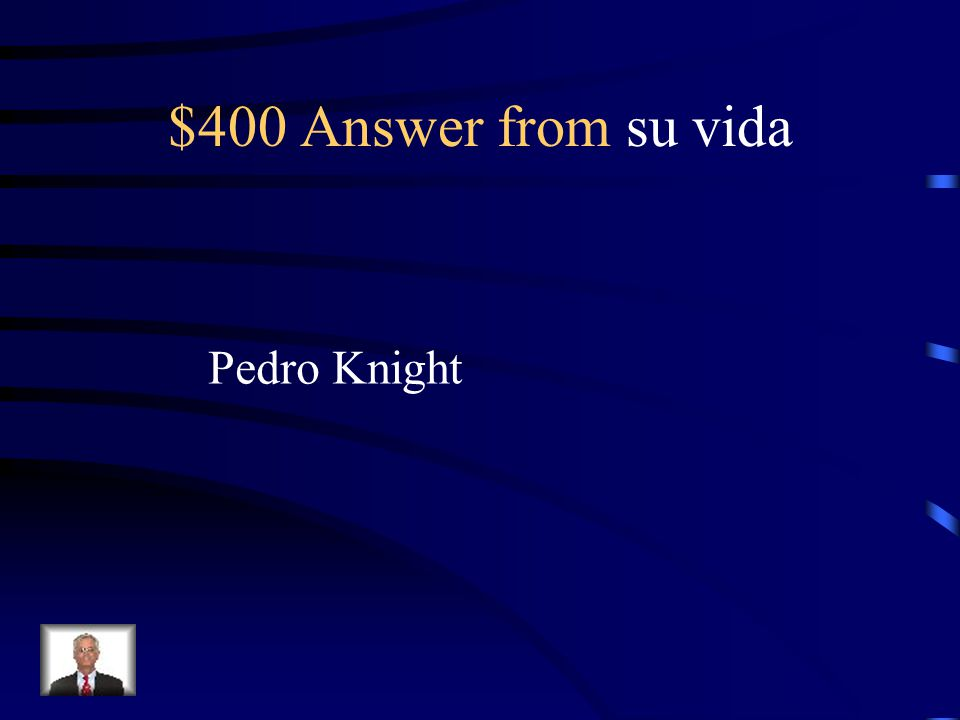 $400 Question from su vida What is her husband's name