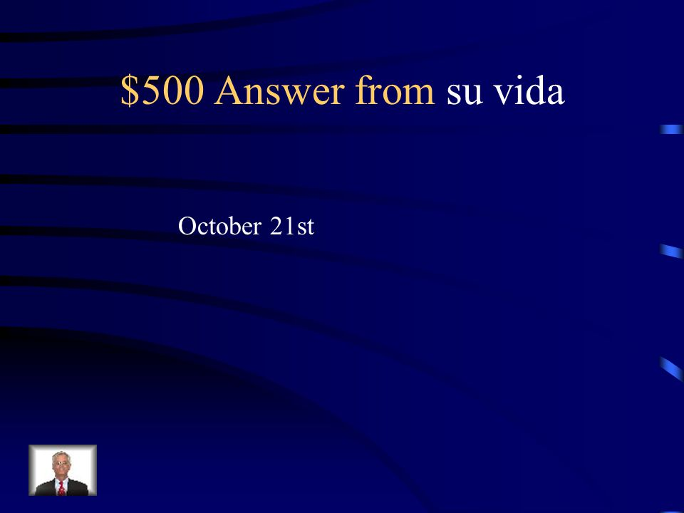 $500 Question from su vida When is her birthday